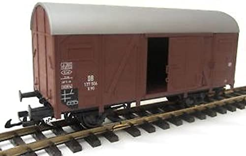 Piko Gedeckter Güterwagen, DB, braun, Spur G 45mm, Gartenbahn