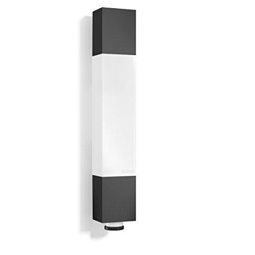 Steinel Luminaire extérieur L 631 LED, détecteur de mouvement 360°, portée 8 m, 663 lm, 8.2 W, protection anti-reptation