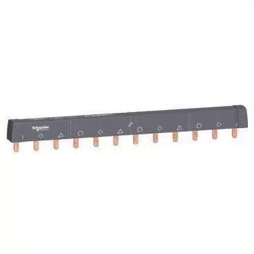Schneider A9XPH312 Phasenschiene Steg, ablängbar, 3P, 12 TE, 100A