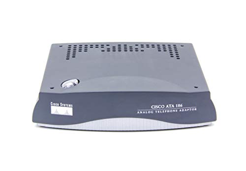 Cisco ATA 186 Analog Telephone Adapter Alámbrico - Dispositivo de Acceso RDSI (Ethernet, Alámbrico, TCP/IP, HTTP, DHCP MGCP, SCCP, SIP)