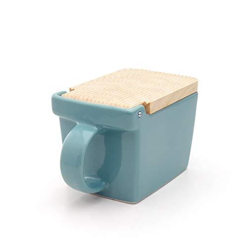 ZEROJAPAN Salt Box - Ice Blue - 15oz   420ml Made in Japan