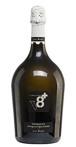 Vineyards v8+ Sior Bepi Prosecco Extra Dry Glera Trocken (3 x 1.5 l)