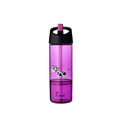 Carl Oscar - 2in1 Snack/Trinkflasche Farbe Pink