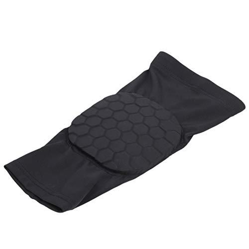 Fybida Cómodo Protector de Brazo Deportivo Ergonomía Antideslizante Negro, Adecuado para Varios Deportes al Aire Libre(XL)