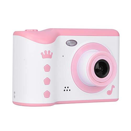 2,8 inch touchscreen HD kindercamera, 720P digitale camera met dubbele lens, ondersteuning voor speciale effecten, 32G geheugenkaart, ingebouwde batterij, kindercamera, beste cadeau