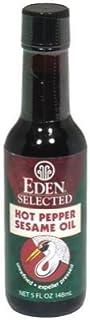 Eden Foods Hot Pepper Sesame Oil (3x5 OZ)