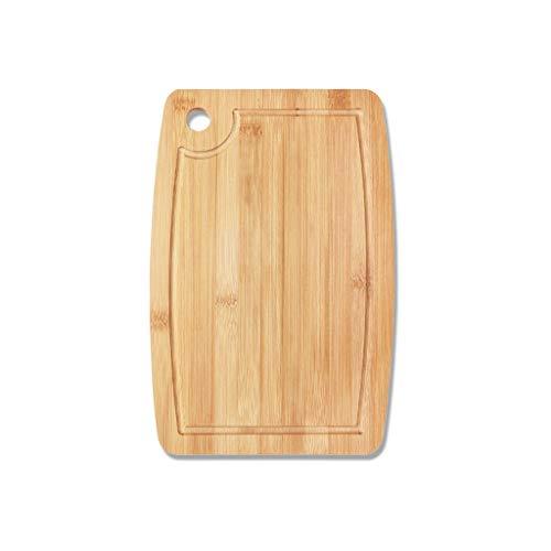Tabla de Cortar Hogar grueso de bambú Tabla de cortar Tabla de cortar de cocina Tablas de cortar Tabla de cortar Cuchillo de mesa tabla adhesiva for la cocina Tablas de Cortar Cocina (Size : L)