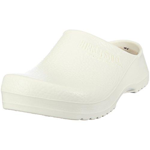 Birki's Unisex-Erwachsene Super Birki Clogs, Weiß (White), 43 EU