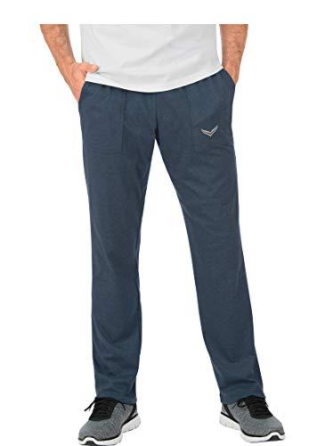 Trigema 637091 Pantalon, Bleu (Jeans-Mélange 643), 56 (Taille Fabricant: X-Large) Homme
