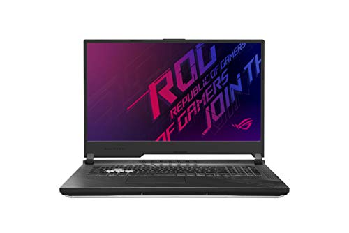 "ASUS ROG Strix G712LV-H7077 - Portátil gaming de 17.3"" FullHD 120Hz (Intel Core i7-10750H, 32GB RAM, 1TB SSD, NVIDIA RTX 2060-6GB, Sin SO) Black - Teclado QWERTY español"