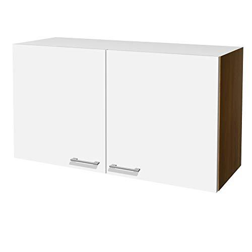 Flex-Well Küchen-Hängeschrank COSMO - Oberschrank - 2-türig - Breite 100 cm - Weiß