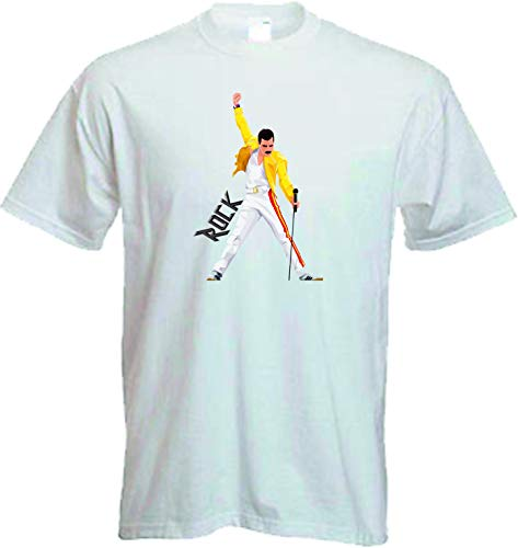 Camiseta Freddie Mercury Rock Queen (XL)