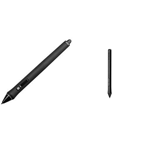 Wacom KP-501E-01 - Bolígrafo Digital para Tablet (Nivel de presión: 2048), Negro + LP190K - Lápiz para Tablet CTL490, CTH490 y CTH690