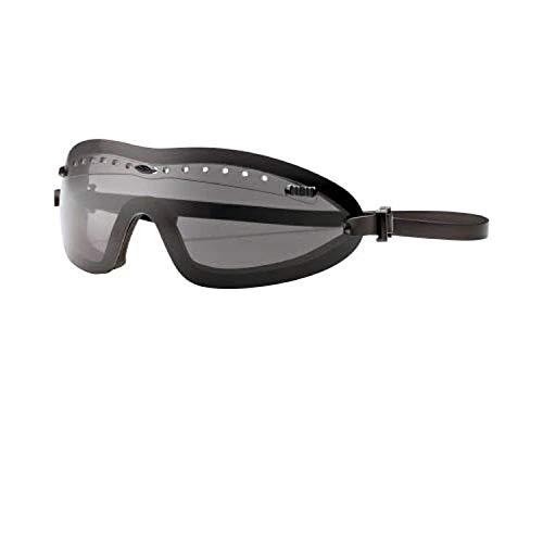 Smith Optics Elite Boogie Regulator Asian Fit Tactical Goggle - Black Frame with Gray Lens