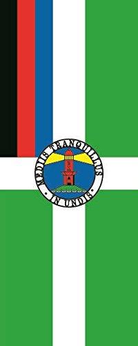 U24 Fahne Flagge Borkum im Hochformat Premiumqualität 80 x 200 cm
