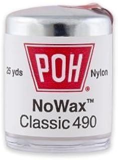 POH Dental Floss Unwaxed, 100 Yard- 4 Pack
