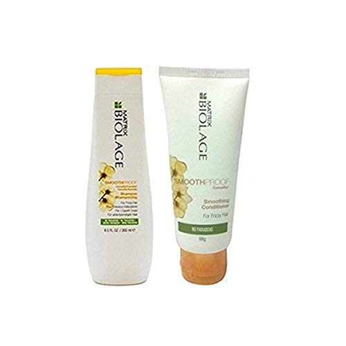 MATRIX By fbb Biolage Smoothproof Smoothing Shampoo 200Ml With Conditioner 98G Combo