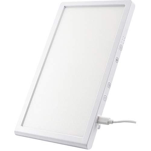 YUNSHAO Tageslichtlampe 10000 Lux, Lichttherapie Lampe mit 3 Lichtfarben und dimmbarer Helligkeit,Lichttherapielampe UV-freies, Tageslichtlampe Lichttherapie für Heim/Bürogebrauch