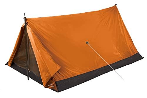 Mochila Stansport Scout 2 pessoas e barraca de acampamento, Laranja, One Size