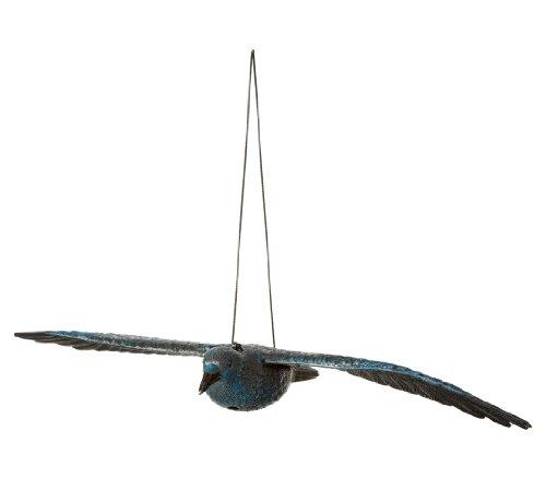 Dehner Vogelschreck, fliegender Rabe, ca. 83 x 40 x 32 cm, schwarz