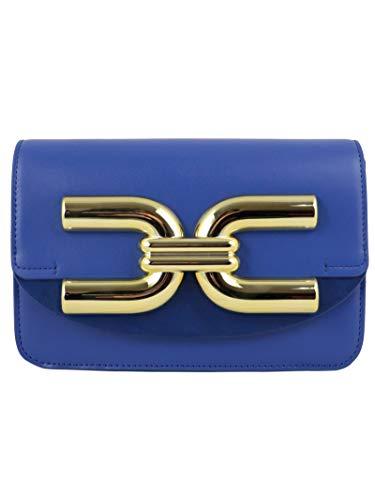 Elisabetta Franchi Luxury Fashion Donna BS47A02E2565 Blu Borsa A Spalla |