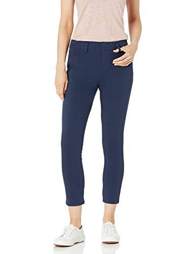 Amazon Essentials Pull-On Knit Capri Jegging Pantaloni, Marina Militare, L