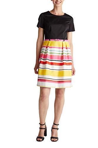 ESPRIT Collection Damen 050EO1E319 Kleid, White 3 (102), 38