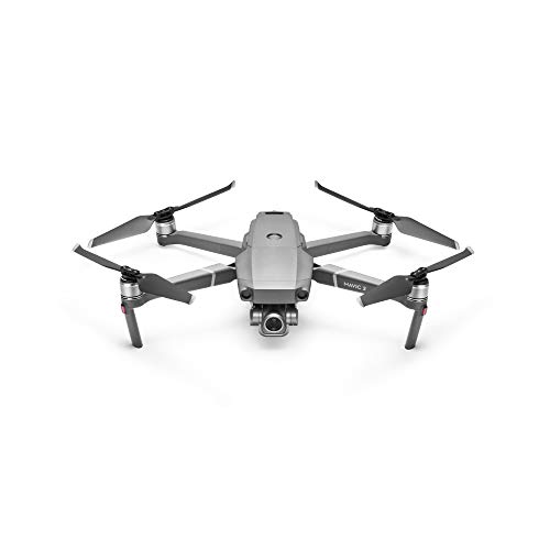 "DJI Mavic 2 Zoom - Drone con Zoom Óptico 24-48 mm, Sensor CMOS de 1/2.3"" y 12 MP, Fotos de Superresolución de 48 MP, Vídeo FHD con Zoom 4× sin Pérdidas, Dolly Zoom, Ultraflexibilidad, Gris"