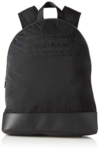 Calvin Klein Herren Nylon Utility Campus Bp 40 Schultertasche, Schwarz (BLACK), 40x29x14cm