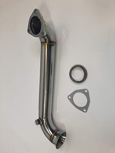 MINI COOPER S R55 R56 R57 R58 R59 R60 R61 Downpipe Hosenrohr 1,6l Sport Auspuff (silber)