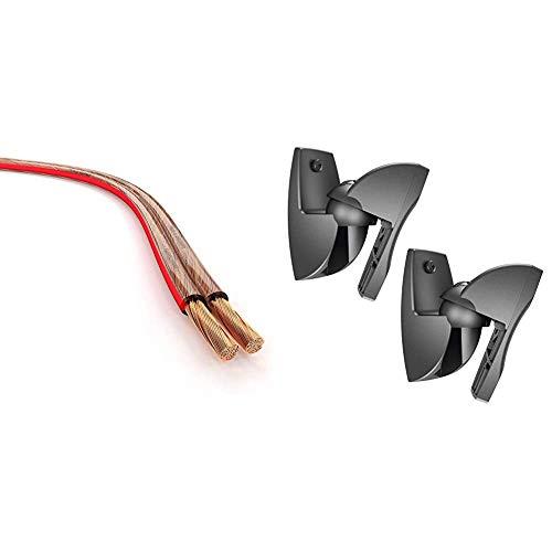 KabelDirekt 671 - Cable de Altavoces, 2x2.5 mm², 30 m, PRO Series,...