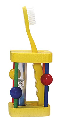 Hess Wooden Toddler Toy Toothbrush Stand