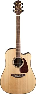 Best Takamine GD93CE-NAT Dreadnought Cutaway Acoustic-Electric Guitar, Natural Review
