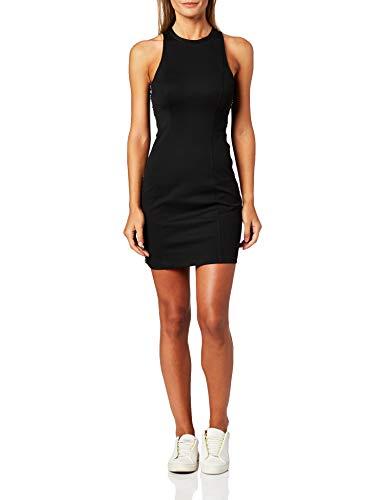 Calvin Klein Jeans Damen Kleid schwarz XS (34)