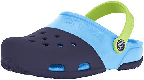 Crocs Electro II Clog, Unisex - Kinder Clogs, Blau (Navy/Electric Blue), 19/20 EU