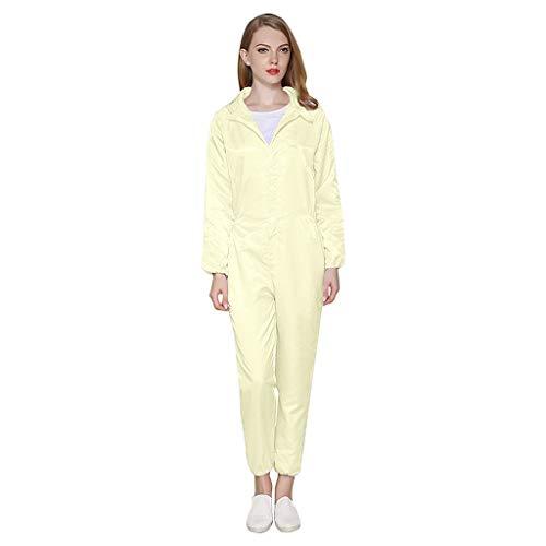 Rain Ponchos, Thick Reusable Emergency Waterproof Rain Poncho with Drawstring Hood Raincoat for Men Women Tigiveme Yellow