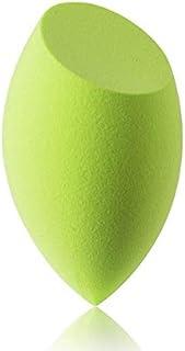 美容スポンジ、ソフトブルー、グリーン美容エッグメイクブレンダーファンデーションスポンジ (Color : グリンー)