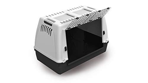 MPBergamo - Portador de perros Bracco 100, gris 🔥