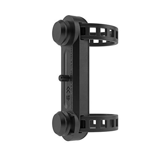 Fidlock Unisex– Erwachsene Twist Uni Base magnetischer Flaschenhalter, Black, 28–62 mm