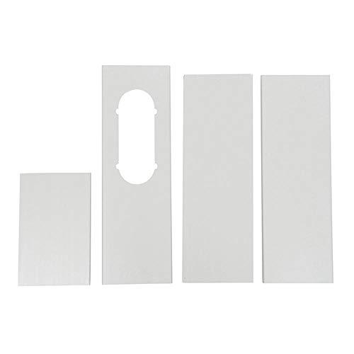Portable A/C Oval Fensterlüfter Slide Plate Klimaanlage Windschild Kit/Stück für Haier dauerhaft 0327