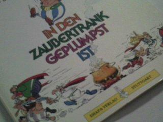 Asterix. Wie Obelix als kleines Kind in den Zaubertrank geplumpst ist, Comic-Softcover Kiosk-Ausgabe 1989