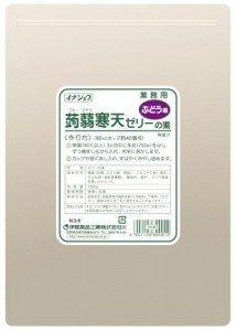 イナショク 蒟蒻 寒天 ゼリー ( ぶどう ) 750g×12P 業務用