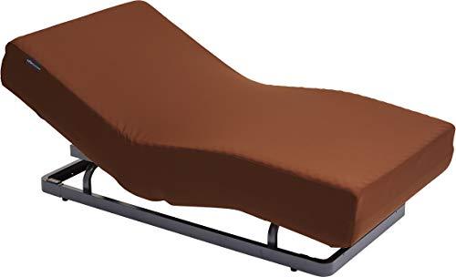 パラマウントベッド 電動リクライニングベッドセット キャメルブラウン 幅98x奥199x高35cm(シングルサイズ) アクティブスリープ 【8梱包】