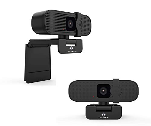 4K Webcam HD Computer Camera   8MP 1080p Web Camera   Laptop and Desktop High Definition Webcam   Privacy Cover, Plug & Play   Mac and PC   Web Cam with Microphone   Video Conference Calls & Recording