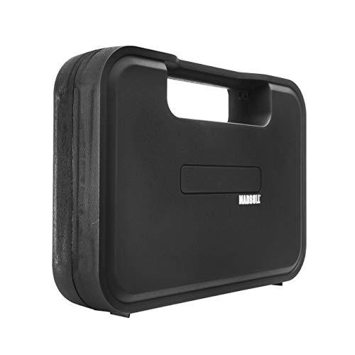 Madbull Pistolenkoffer 35 x 25 x 6,5 cm schwarz