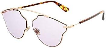 Dior Pink Aviator Ladies Sunglasses