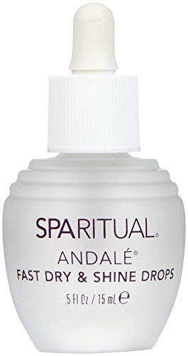 Sparitual Vegan Andalé Fast Dry & Shine Drops - Nagelpflegeserum Schnelltrockner