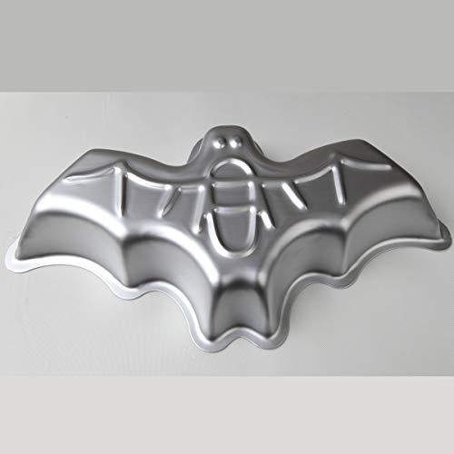 3D-Aluminium-Kuchenform, Fledermaus-Form, Kuchenform, Dekoration, Pudding, Schokolade, Gelee, Backwerkzeug