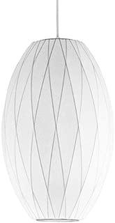 George Nelson Bubble Lamps Cigar - Criss Cross Lamp