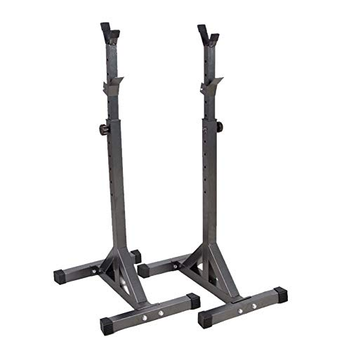 Squat Rack Haltérophilie Support, Barre De Squat Poids Racks Barbell Rack Cage a Squat Musculation...